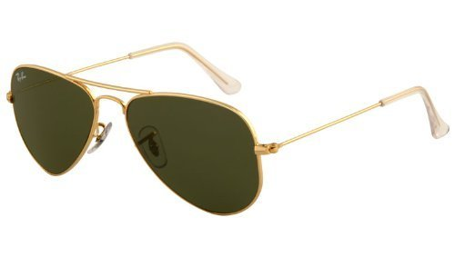 New Ray Ban RB3044 L0207 Aviator Arista/G-15 XLT 52mm Sunglasses (Made In Italy Ray Ban Sunglasses compare prices)