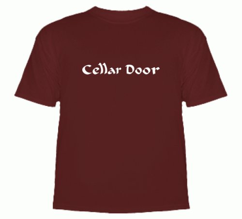 Alternate Cellar Door (Donnie Darko T-Shirt) T-Shirt Deep Red Medium