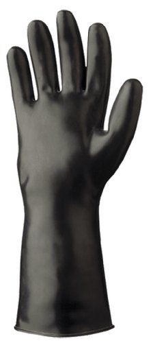 Showa Best 892 Unlined Viton Over Butyl Glove, Rolled Cuff, Chemical Resistant, 12 mils Thick, 12