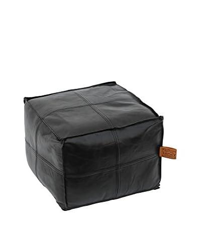 HAWKE & THORN Puff Hudson Square nSquare Leather