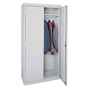 Elite Series Deep Mobile Wardrobe Cabinet Color: Burgundy