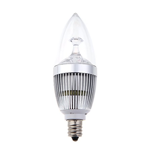 Docooler E14 3W Led Light Chandelier Candelabra Candle Bulb Lamp High Power White 85-265V