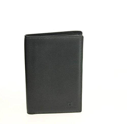 Le Tanneur, Borsa a spalla uomo nero nero 11.0 (L) x 15.0 (H) cm.