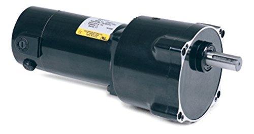 Baldor 3hp Single Phase Motor Wiring Diagram : 1 4 hp 27.7 rpm 90 volts dc baldor parallel shaft gear motor