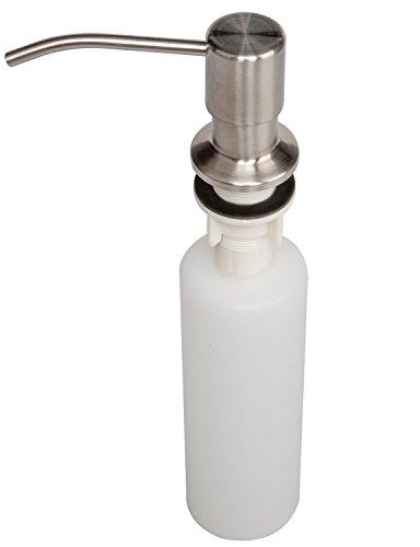 Attmu 13 oz sink soap dispenser stainless steel built in - Built in soap dispenser in bathroom ...
