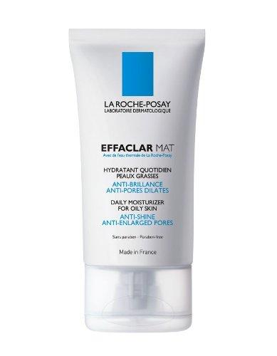 La Roche-Posay Effaclar Mat Oil-Free Facial Moisturizer for Oily Skin to Mattify Skin and Refine Por..
