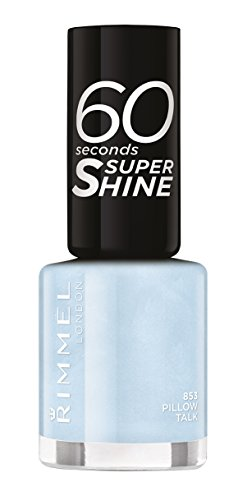 Rimmel London - 60 Seconds Supershine, Smalto per unghie ultra brillante, N. 853 Pillow Talk, 8 ml
