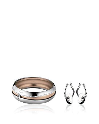 Breil Set bracciale e orecchini Secretly Acciaio