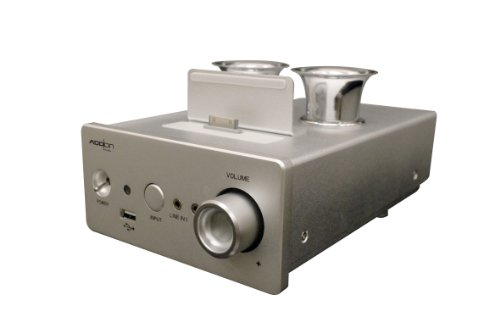 Add On Technology Co., Ltd. Amp_01 i-Concertino+LS-560 Vacuum Tube Amplifier for iPod/iPhone/iPad with HDMI Output (Silver)