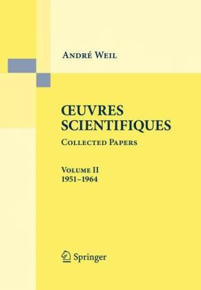 Oeuvres scientifiques, Collected papers, - (1951-1964)