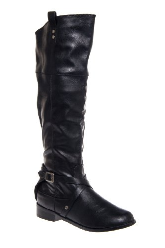 Restricted Belview Tall Low Heel Boot