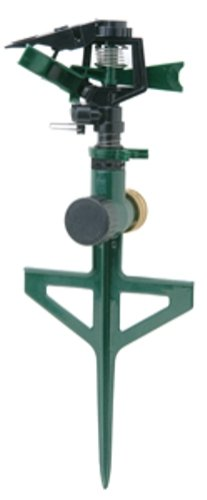 Bond 70000 Deluxe Pulsating Adjustable Sprinkler With Zinc Components And Spike
