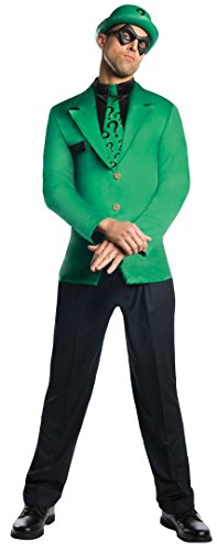 Rubie's Costume Men's Dc Super Villains Adult Riddler, Green/Black, Large or XL