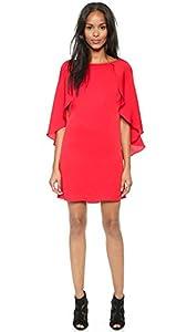 Milly Women's Grace Dress, Red, 2