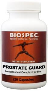 Prostate Guard:(120Capsules) A Comprehensive Formula That Promotes Urinary Flow & Prostate Health