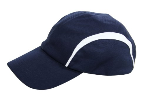 Wholesale 2 Pack- Dry Fit Sports (Tennis, Golf) And Outdoor Cap - Navy/White