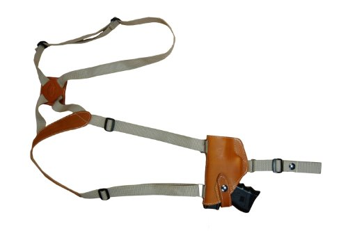 New Barsony Saddle Tan Leather Shoulder Holster For Cz-P01 Cz-P07 Duty Right