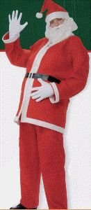 Simply Santa Claus Economy Adult Christmas Costume Size Standard