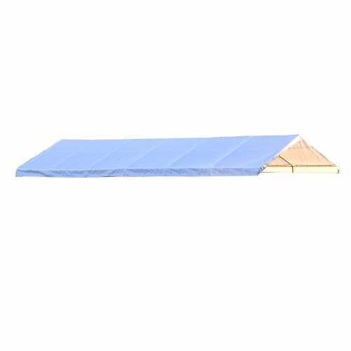 18x40 canopy white replacement cover for 2 frame fr rated for 18x40 frame