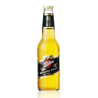 ミラー ドラフトビール 355ml瓶×12本 Miller Genuine Draft