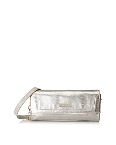 Charles Jourdan Women's Winona 2 Shoulder Bag, Silver