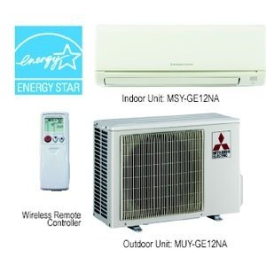 Mitsubishi MSY/MUY-GE12NA Indoor/Outdoor Up to 20.5 SEER, 12kBTU A/C System (Mitsubishi Room Air Conditioner compare prices)