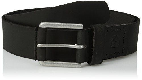 Timberland Men's 40Mm Pull Up Leather Belt, Black, 34