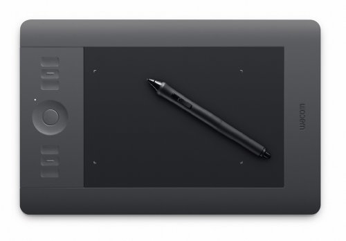 Wacom Intuos5 Pen and Touch Small Graphics Tablet
