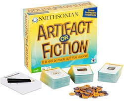 31euxA5Ck8L Cheap Price Trivia Game   Artifact or Fiction Family Trivia Game (Ages 7+)   Is it Real or False?