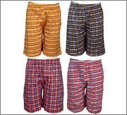 Spictex Boys' Cotton Shorts (Pack Of 4) (SPIC-CT142-PC4-01_Multicolor_8 Years - 9 Years)