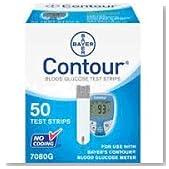 Bayer Contour  Blood Glucose, 50 Test Strips