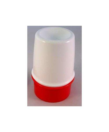 Tupperware Thermo Eierbecher Ei Eier warm halten transportieren rot weiß