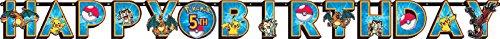 Pokemon Jumbo Letter Banner Kit