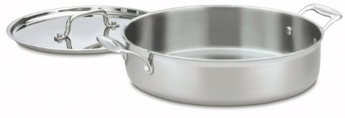 Cuisinart MCP55-30 MultiClad Pro Stainless 5-1/2-Quart Casserole with Cover