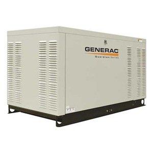 Generac Qt03624Jnax Quietsource Liquid-Cooled 2.4L 36Kw 120/240 Volt 3-Phase Natural Gas Aluminum Generator