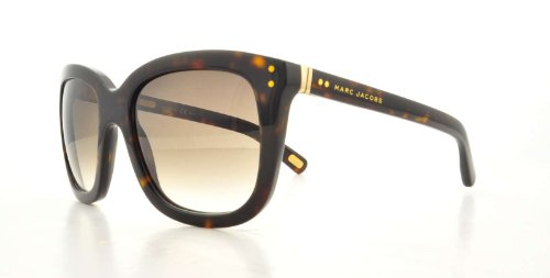 Marc Jacobs Marc Jacobs MJ384/S Sunglasses-0086 Dark Havana (JS Gray Gradient Lens)-53mm