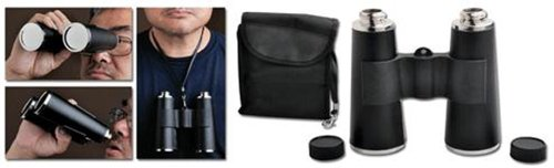 Binocular Drinking Flask That Holds 16 Ounces