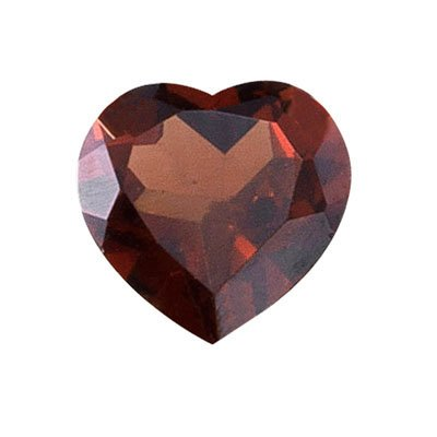 0.93 Cts of 6x6 mm Heart Loose Garnet (1 pcs