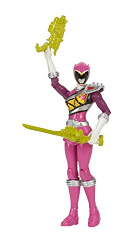 "Power Rangers Dino Charge - 5"" Pink Ranger Action Hero - 1"