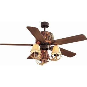 Hampton Bay Lodge 52 in. Nutmeg Ceiling Fan