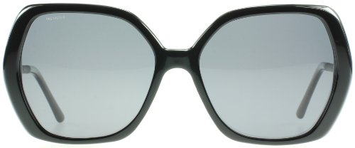 Burberry  Burberry Black 4122 Round Sunglasses Polarised Lens Category 3