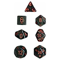 Polyhedral 7-Die Translucent Dice Set…