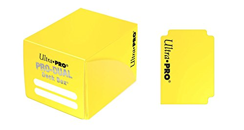 Ultra PRO Dual Deck Box, Small, Yellow
