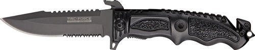 Tac Force TF-711BK Assisted Opening Folding Knife 5-Inch Closed