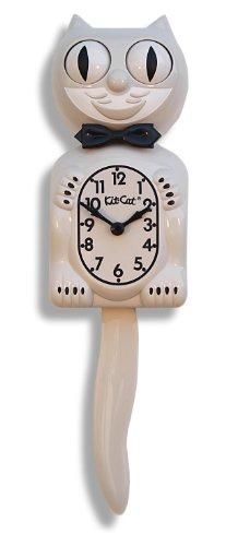 The Original Kit Cat Klock - Limited Edition Seashell Cream Clock