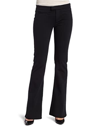(3.4折)卡尔文Calvin Klein Jeans Women Welt Pocket Flare美女休闲牛仔裤黑$23.35