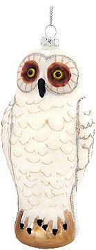 White Owl Ornament (6-Pack)