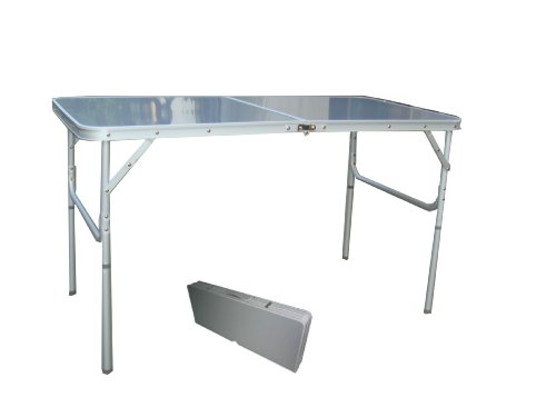 2-4 Person Aluminum Folding Camping Table With FREE FOOD COVER TA-8106