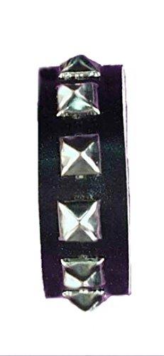 Forum Novelties Gothic Studded Wristband - 1 Row Studs