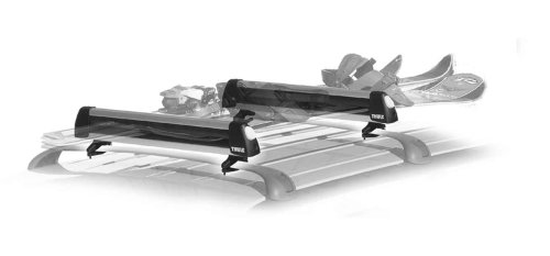 Thule 91726 Universal Pull Top 6 Pair Ski And Snowboard Carrier With Locks front-828391